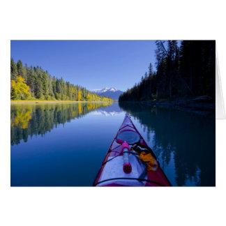 Canada, British Columbia, Bowron Lakes Greeting Card