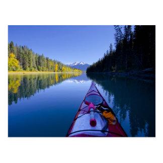 Canada, British Columbia, Bowron Lakes Postcard
