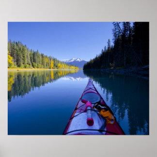 Canada, British Columbia, Bowron Lakes Poster