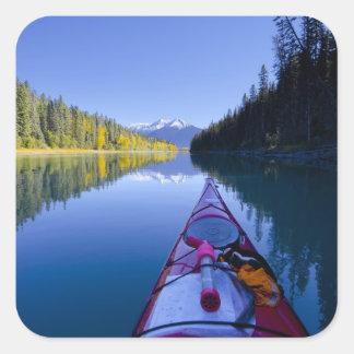 Canada, British Columbia, Bowron Lakes Square Sticker