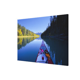 Canada, British Columbia, Bowron Lakes Stretched Canvas Prints