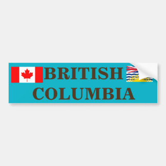 Canada - British Columbia Bumper Sticker