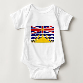 Canada British Columbia Flag Baby Bodysuit