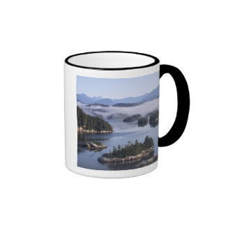 Canada, British Columbia, Johnstone Straight Ringer Coffee Mug