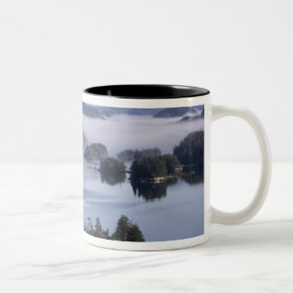 Canada, British Columbia, Johnstone Straight Two-Tone Coffee Mug