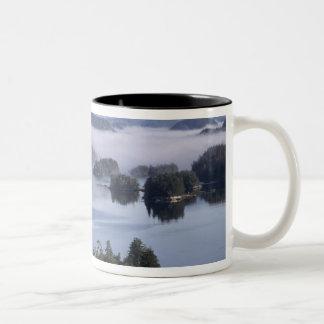 Canada, British Columbia, Johnstone Straight Two-Tone Coffee Mug