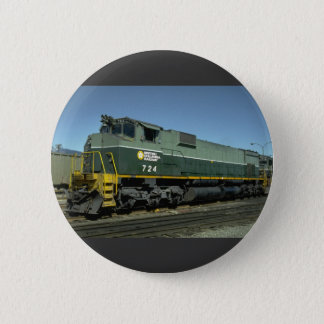 Canada, British Columbia, Ry MLW M630 2 Inch Round Button