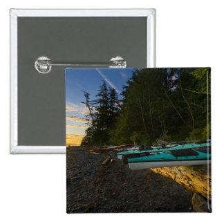 Canada British Columbia Vancouver Island 2 Pinback Button