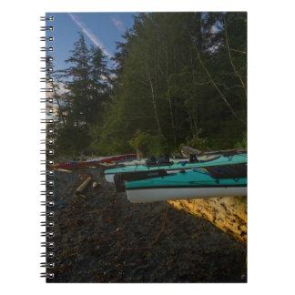 Canada British Columbia Vancouver Island 2 Notebooks