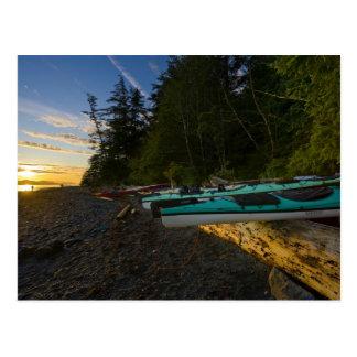 Canada, British Columbia, Vancouver Island, 2 Postcard