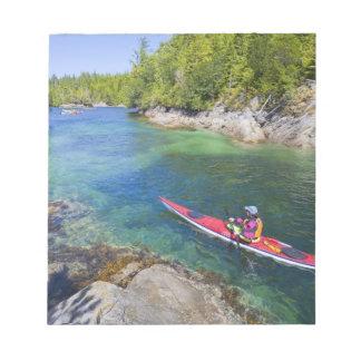 Canada, British Columbia, Vancouver Island. Sea 2 Memo Notepad
