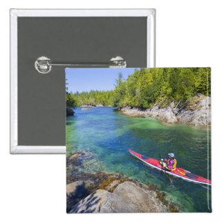 Canada British Columbia Vancouver Island Sea 2 Pin
