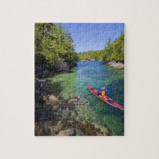 Canada, British Columbia, Vancouver Island. Sea Jigsaw Puzzle