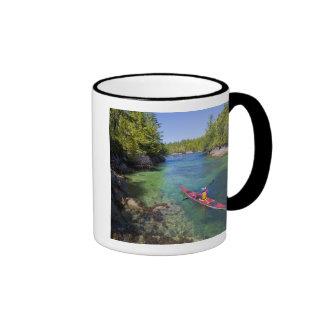 Canada, British Columbia, Vancouver Island. Sea Ringer Mug