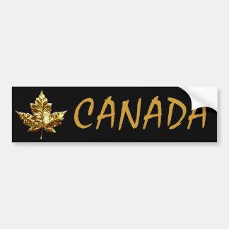 Canada Bumper Sticker Gold Medal Mapleleaf Sticker