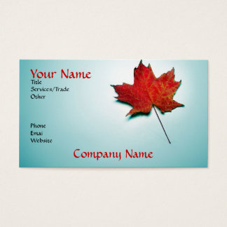 canada business card