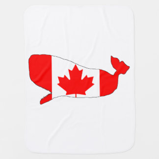 Canada Cachalote Baby Blanket