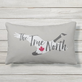Canada Canadian Goose Strong and Free Pillow