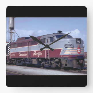 Canada, Canadian Pacific_Trains of the World Wall Clock