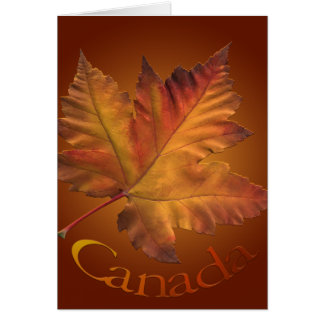 Canada Cards Canada Maple Leaf Greeting Cards