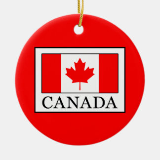 Canada Ceramic Ornament