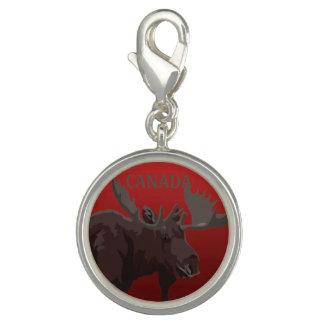 Canada Charms Custom Canada Moose Souvenir Jewelry