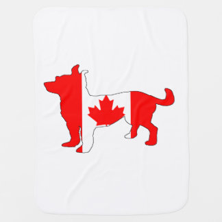 Canada Chihuahua Baby Blanket