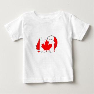 Canada Chinchilla Baby T-Shirt