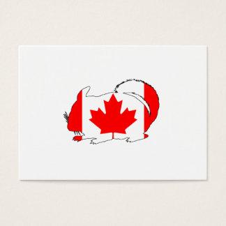 Canada Chinchilla Business Card