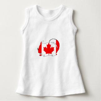 Canada Chinchilla Dress