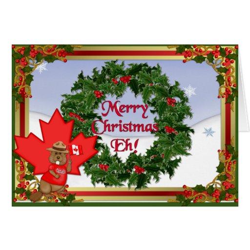 canada christmas greeting cards zazzle