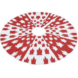 Canada Christmas Tree Skirt Canada Flag Tree Skirt