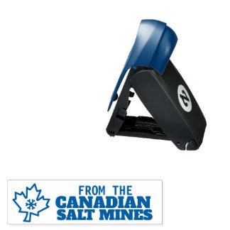 Canada Cnadian Salt Mines Liberal econo Pocket Stamp