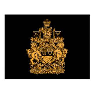 Canada Coat of Arms - Canada Crest Post Cards