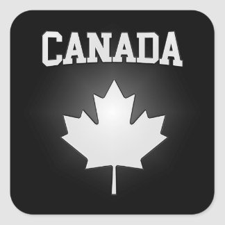 Canada Coat of Arms Square Sticker
