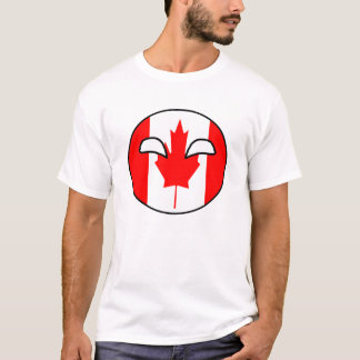 Canada Country Ball T-Shirt