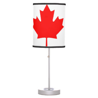 canada country flag table lamp