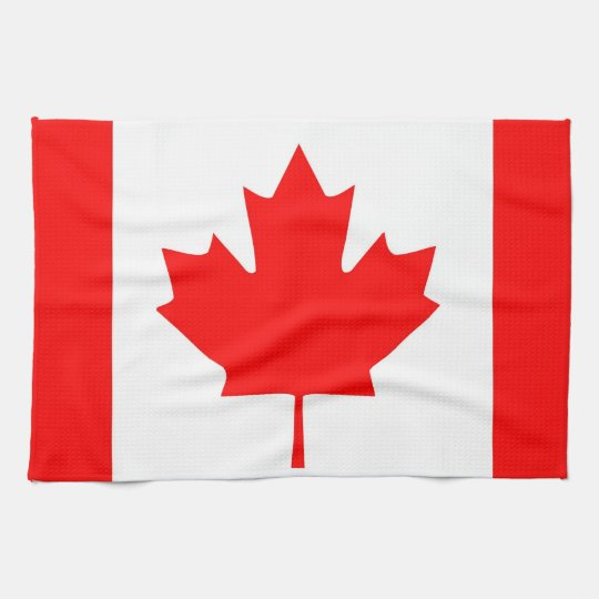 canada country flag towel