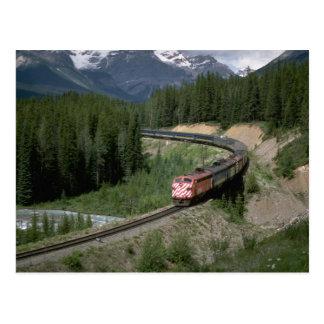 Canada, CP Rail FP-7 Postcard