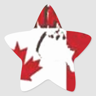 CANADA CUSTOM GIFTS STAR STICKER