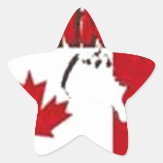 CANADA CUSTOM GIFTS STAR STICKER