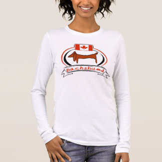 Canada Dachshund Long Sleeve T-Shirt