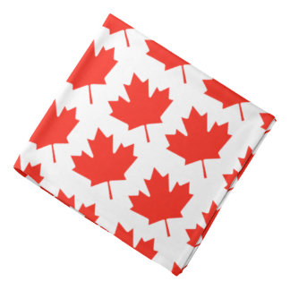 Canada Day 2017 Your Background Color Bandana