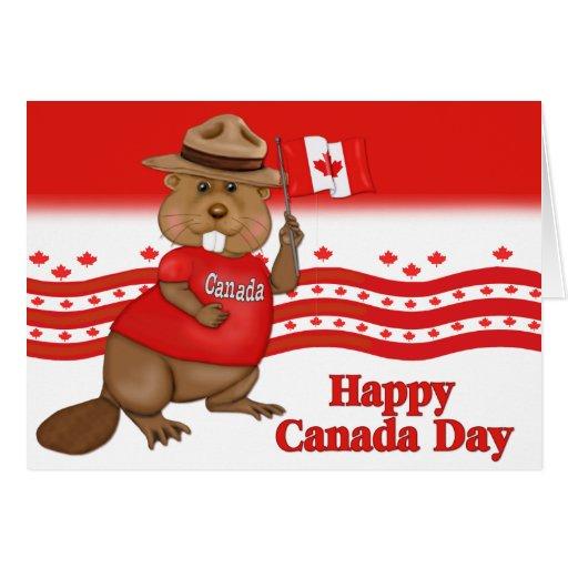 Canada Day Beaver Zazzle