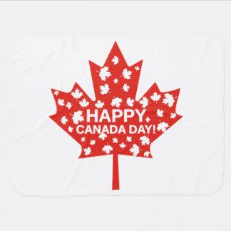 Canada Day Celebration Baby Blanket