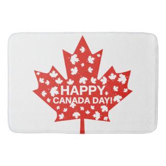 Canada Day Celebration Bath Mat