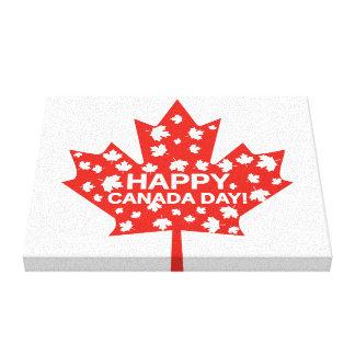 Canada Day Celebration Canvas Print