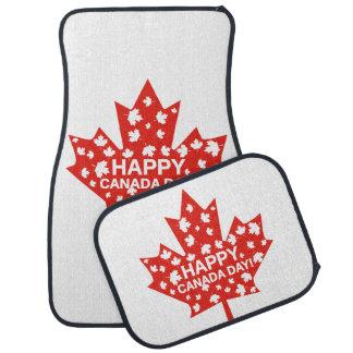 Canada Day Celebration Car Mat