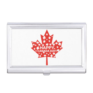 Canada Day Celebration Case For Business Cards