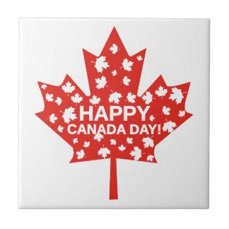 Canada Day Celebration Ceramic Tiles